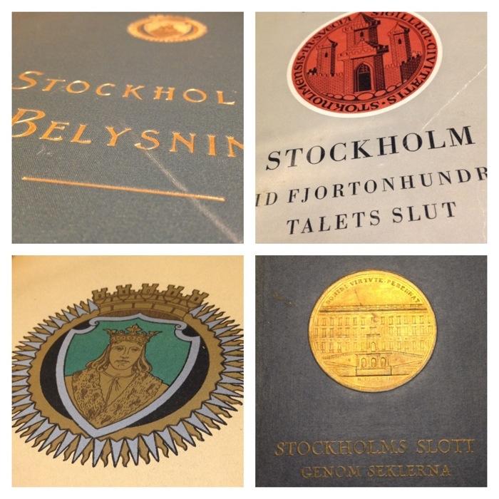 Stockholmsboken historisk bild och mitt i nuet