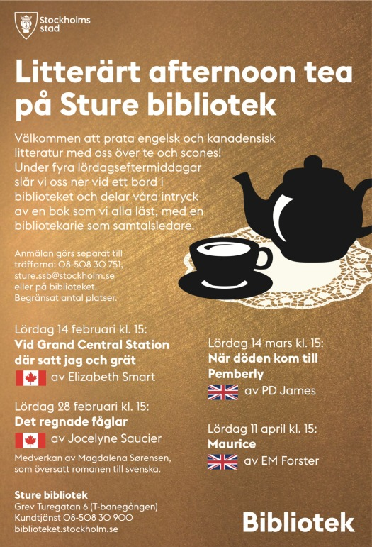 Sture Litterärt afternoon tea vår 2015 NY