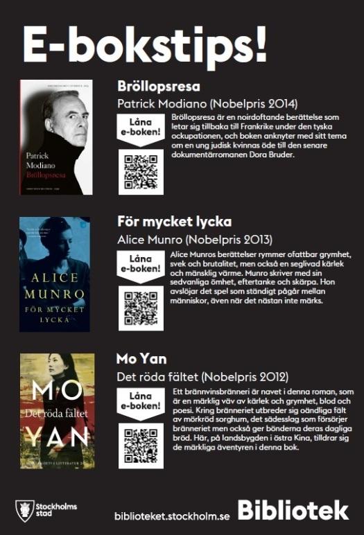E-bokstips Nobelpris