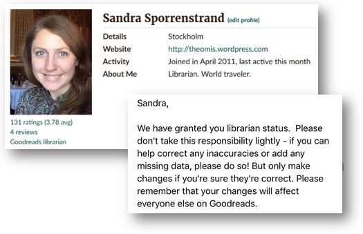 goodreads-librarian